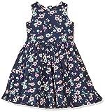 Blue Seven Mädchen Kleid RH Ohne Arm, Blau (Dk Blau 570), 110