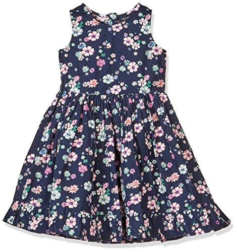 Blue Seven Mädchen RH ohne Arm Kleid, Dk Blau 570, 92 (Für Kinder Armee-kleid)
