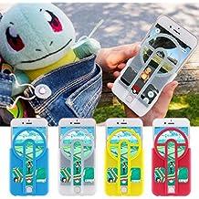 Premium Pokémon GO Coque Pokémon GO Catcher, Lanceur Pokémon Go Pour iPhone Samsung LG Smartphone (iPhone 6/6s, Blanc)