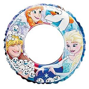 Intex Frozen - Flotador hinchable para niños de 3 a 6 años, diámetro flotador: 51 cm