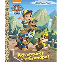 Adventures with Grandpa! (PAW Patrol) (Little Golden Book)