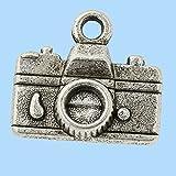 Schmuckanhänger Kamera, ca. 1,5 cm, Btl. a 3 St.
