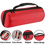 Faylapa Funda Estuche Travel Pouch Carrying Case para JBL Charge 3 Portable Bluetooth Altavoz, Fit Charger y USB Cable (Red)
