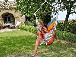 COULEURS DU MONDE - Chaise hamac Xadres Multicolor