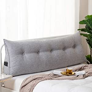 F LFJBK Bedside Backrest Pillow Lace