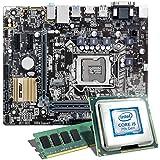 Intel Core i5-7600K / ASUS H110M-A/M.2 Mainboard Bundle / 8192 MB | CSL PC Aufrüstkit | Intel Core i5-7600K 4x 3800 MHz, 8 GB DDR4-RAM, Intel HD Graphics 630, GigLAN, 7.1 Sound, USB 3.1 | PC Tuning Kit