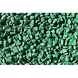 Piedra decorativa para jardín RockinColour , Irish Emerald Green