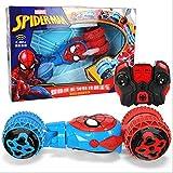 MYMAO 01Voiture de contrôle à Distance des Enfants Spiderman, Tumbling Stunt Voiture Jouet Voiture de Chargement télécommande Camion de vidage de Voiture