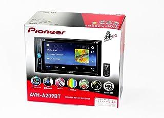 Pioneer AVH-A209BT Monitor RDS AV Receiver (Black)