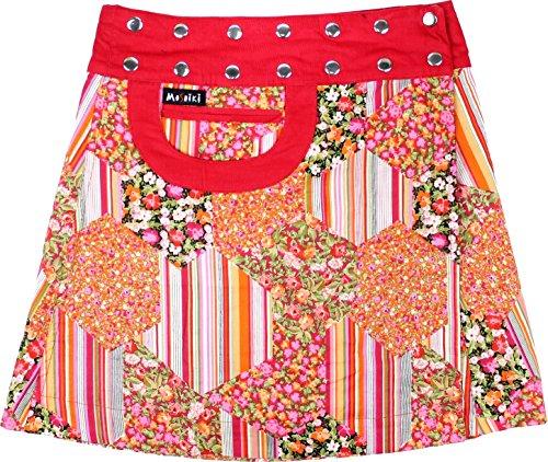 Moshiki - Jupe - Portefeuille - Femme Multicolore Mehrfarbig Taille Unique L736
