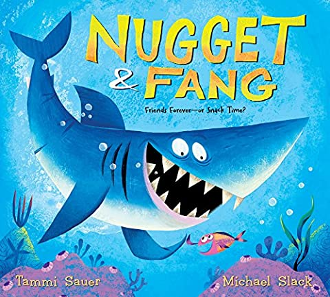 Nugget and Fang (lap board book): Friends Forever?or Snack Time?