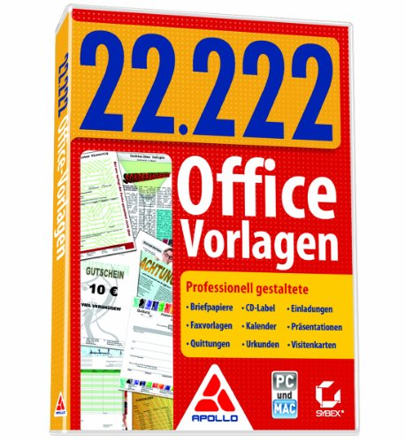 22.222 Office-Vorlagen
