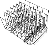 Rastrelliera LIPAVI Sous Vide – Modello L15 | Rastrelliera professionale Sous Vide | Accessori in acciaio inossidabile (316L) per cucina | In acciaio inossidabile, regolabile, pieghevole | Disposizione del cibo da cucinare in verticale | Veloce, efficienza e uniformità | 27,4 x 20,3 x 16,7 cm