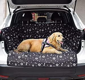 Petemoo Kofferraumschutz Hunde Auto Hundedecke Wasserdicht Hunde Schutzdecke Auto Hundedecke Kofferraum Schutzdecke Auto Hund Kofferraumdecke Mit Seitenschutz Auto Kofferraumschutzdecke Haustier