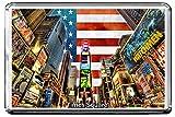 0115 TIMES SQUARE KÜHLSCHRANKMAGNET USA LANDMARKS, USA ATTRACTIONS REFRIGERATOR MAGNET