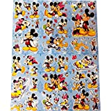 Mickey Mouse Removable Stickers Mini Size Great Gifts For Kids Children Stickers For Walls Skateboard Vintage Vinyl Sticker Laptop Luggage Stick Wall Decals And Stickers For Kids Pack Of 1