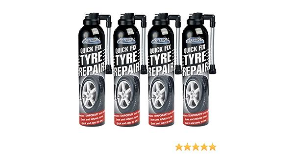 4 X 300 Ml Quick Fix Auto Flat Reifen Reparatur Schaumstoff Dichtungen Aufblasen Fahrrad Fahrrad Fahrrad Auto