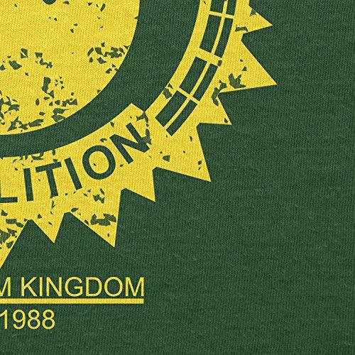 TEXLAB - Bob-omb Demolition - Herren T-Shirt Flaschengrün