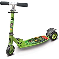 Toyzone - 66026 Ben 10 Kids Skate Kick Scooter -Multicolour