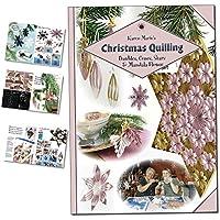 Karen-Maries Christmas Quilling, Anleitungs Heft