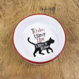 The Bright Side Cat Bowl - To Do 1: Sleep 2: Eat