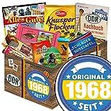 Original seit 1968 | DDR Suessigkeiten-Box | Schokolade Geschenkset M | Kalter Hund, Mokka Bohnen, Argenta | Schokoladen Set für die Frau Schokoladen Geschenkset 50 Geburtstag Geschenke