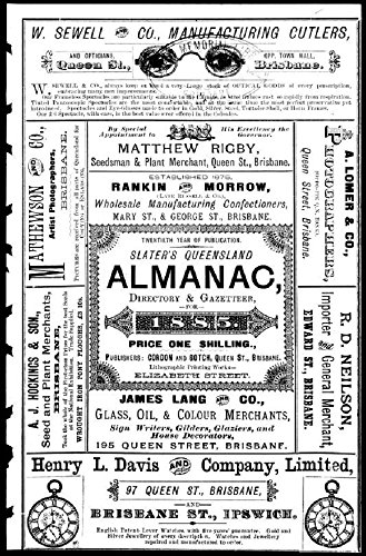 slaters-queensland-almanac-1885-directory-gazetteer-english-edition