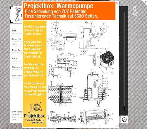 Wärmepumpe: Deine Projektbox inkl. 707 Original-Patenten bringt Dich mit Spaß hinter die Geheimnisse der Technik!