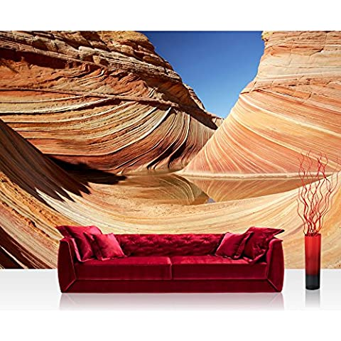 Liwwing FTVLPP-0233-300X210 - Vello foto parati 300x210 cm - top! premium plus photo carta da parati! murales parati photowallpaper xxl immagine murale wallpaper wanddeko muro duna di sabbia del deserto -. no 233