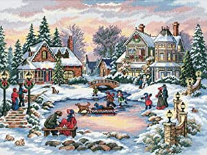 Gold Collection A Treasured Time Counted Cross Stitch Kit-16''X12'' 16 Count