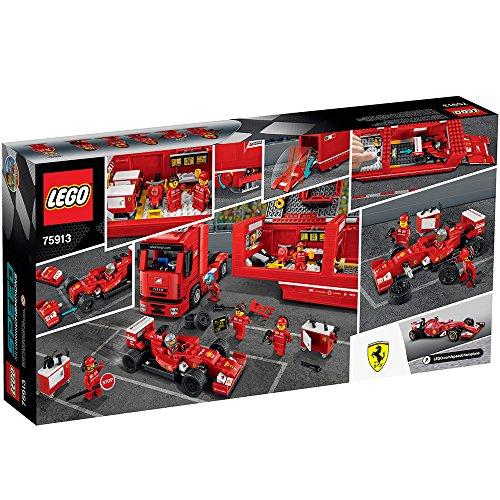 LEGO - F14 T y camión de la escudería Ferrari, (75913)