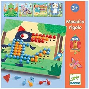 DJECO- Juegos de acción y reflejosJuegos educativosDJECOEducativos Mosáico rigolo, (15)