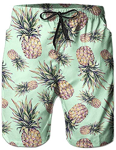 NEWISTAR Costume da Bagno Boxershorts Uomo Tronchi per la Spiaggia da Uomo Pantaloncini Sportivi da Bagno