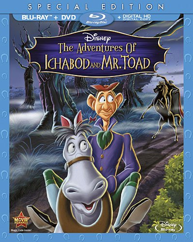 Adventures of Ichabod & Mr Toad [USA] [Blu-ray]