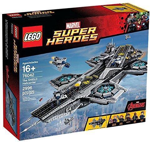 LEGO Marvel Super Heroes der helitransporte Shield--Spiele BAU (16Jahr (S), 2996Stück (S), Comic, Kinder/Mädchen, Mehrfarbig