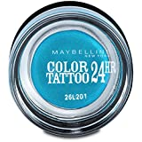 Gemey Maybelline-Ombretto Crema Color Tattoo 24H di Maybelline N ° 20turchese Forever