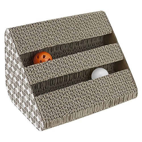 Pets Empire Cat Scratching Pad Toy with Inside Bell Balls