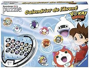 Ravensburger - 11674 - Calendrier de L'Avent Yo Kai Watch