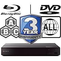 Sony BDP-S6700 region free Multi All Zone Blu-ray player 4k Upconversion 3D smart wifi