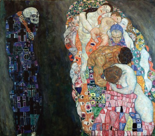Artifact Puzzles Klimt Death And Life Wooden Jigsaw Puzzle By Artifact Puzzles
