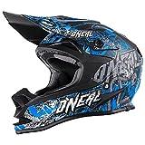 O'Neal 7Series MX Helm Evo Manace Motocross Enduro Offroad Quad Cross, 0578-5, Farbe Blau, Größe M