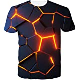 Goodstoworld Unisex 3D Printed T Shirt Summer Personalized Casual Short Sleeve Tee Shirts Tops