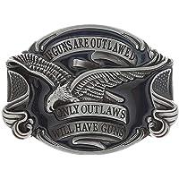 STARBRILLIANT Vintage Retro Celtic Knot Belt Buckle for Men Simple Cowboy Belt Buckle