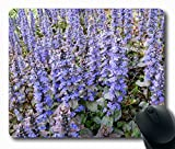 "Ajuga reptans Personalized Custom Mouse Pad Oblong Shaped in 220mm*180mm*3mm (9""*7"")Style 0127035"