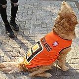 shanzhizui Große Hundekleidung Weste Kleine, Mittlere und Große Hund Sommerweste Goldener Apportierhund Samojede Sibirischer Husky (XS, 006)