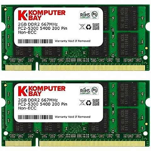 KB _ Master _ 667MHz _ SODIMM 4GB (2x