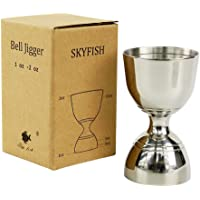 SKY FISH Stainles Steel Bar Jigger 1 2oz 3 2oz Cocktail Jigger Misurini per Cocktail 1oz 2oz  Argento