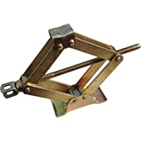 J.K scissor vehicle lift jack for CAR WIith (Lifting rod included) capacity 0.750 kg