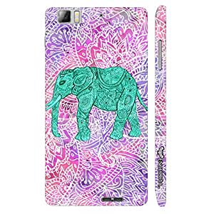 Lenovo K 900 Elephant Art 6 designer mobile hard shell case by Enthopia