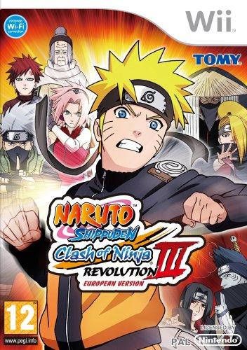 Naruto Shippuden : Clash of ninja revolution 3 [Importación francesa]